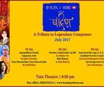 Music festival to pay tribute to legendary Indian composers