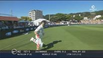 McCullum's entry to Basin Reserve botched by grounds announcer