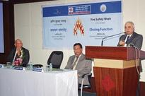 Fire Safety Week Organized In Central Bank Of India