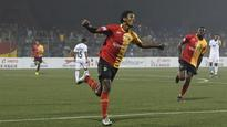 I-League | Willis Plaza's double strikes help East Bengal beat Mumbai FC, maintain lead at top