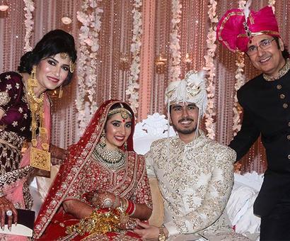 PIX: Mahendra Kapoor's grandson weds