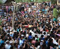 Funeral for militant Mohammad Altaf Mir held in Indian-controlled Kashmir