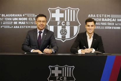 Football Briefs: Barcelona's Coutinho ruled out for three weeks