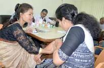 Journalists, kin attend OPD clinic at Press Club