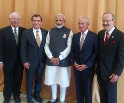 PM Modi speaks at Congressional Reception