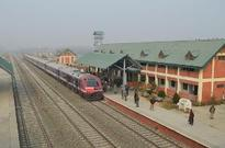 Rail service connecting north and south parts of Kashmir resumed today