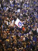 The Latest: Chicago Cubs fans celebrated with few arrests