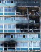 Tower block fire deaths families sue