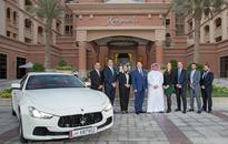 Maserati Qatar, Marsa Malaz Kempinski, QCS host cancer survivor at resort