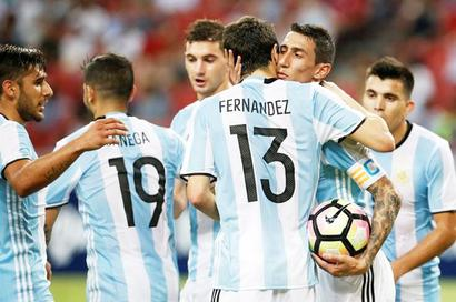 Experimental Argentina hit Singapore for six in friendly