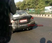 Next-gen Maruti Swift DZire spotted testing in India
