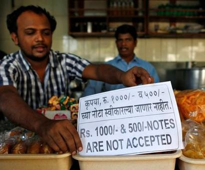 Demonetisation likely to pull down India's growth further