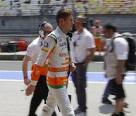 Force India's Paul di Resta finishes fourth in Bahrain GP