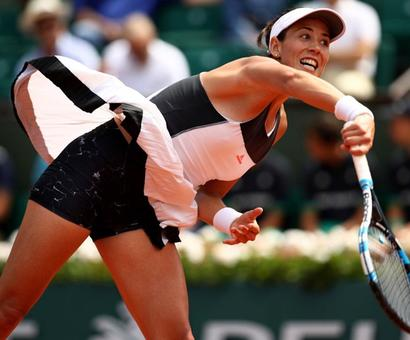 French Open PIX: Muguruza, Raonic, Thiem through to last 16; Dimitrov, Goffin out