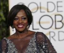 Viola Davis receives bullets as a gift