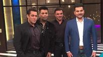 Confirmed! Salman bhai sips koffee with his brothers Arbaaz and Sohail!
