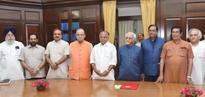 Oscar Fernandes, Jairam Ramesh, M J Akbar, S C Misra take oath in RS