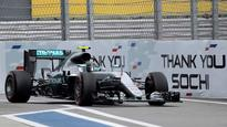 Rosberg secures pole position in Russian Grand Prix