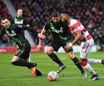 Thunderbolt strike helps Stoke survive