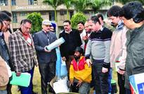 Demonstration on micro-irrigation systems held