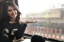 Shahrukh Khan greets fans in person during Rajdhani train stopovers, but Sunny Leone stays aloof