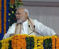 Modi lashed out at previous governments for ignoring divyangs