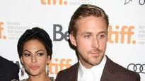 Ryan Gosling and Eva Mendes get frisky on set