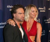 Kaley Cuoco Getting Cozy With Johnny Galecki On 'The Big Bang Theory'; Boyfriend Karl Cook Jealous?