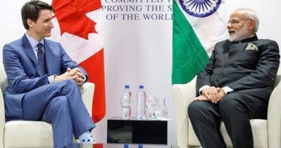 PM Modi finally 'welcomes' Canada's Trudeau in India