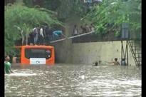 Heavy Rains Hit Transport Networks Across Delhi
