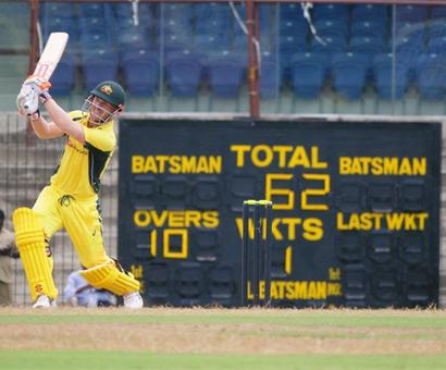 Warm-up: Australia warm up in style, thrash BP XI by 103 runs