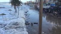 'Mini-tsunami' hits South African coast in Durban