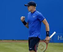 Kyle Edmund into Queen's quarters after walkover win over Paul-Henri Mathieu