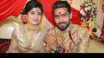 Sir Jadeja looks royal as a married man in wedding pics with Riva Solanki