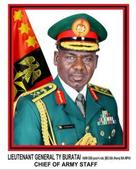 Buratai reveals role of new female Army officers