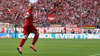 Franck Ribery scores as Bayern Munich hold on to beat Eintracht Frankfurt
