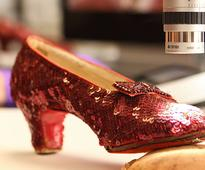 Crowdfunding raises $300,000 in a week for ruby slippers restoration
