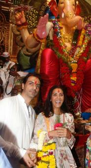 PIX: Bollywood's weekend Ganpati celebrations