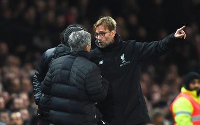 Mourinho-Klopp touchline confrontation adds to EPL publicity