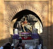 MONUMENTOS ALHAMBRA - La Alhambra rehabilita la Puerta del Vino para recuperar sus pinturas murales