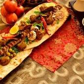 Can you stomach this metre-long kebab?