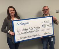 Alegeus to Donate to Three Charities as a Result of Charitable Giving Program