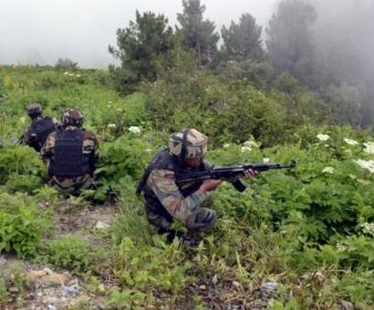 Terrorists attack CRPF personnel with grenade in J&K, operation continues