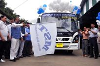 Chief Minister launches Interdistrict and City Bus Service