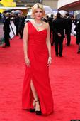 Holly Makes A Style Willoughbooby At TV Baftas75