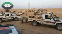 Syria rebels 'move on Iraq border town'