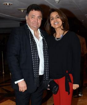 PIX: Ranbir-Neetu at Rishi Kapoor's book launch