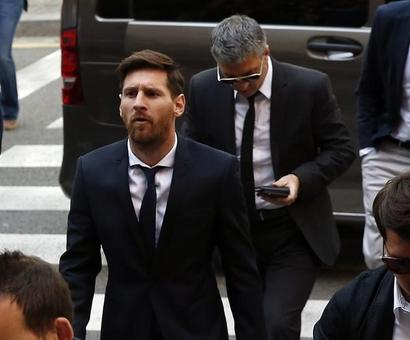 Sports Shorts: Barcelona star Messi loses appeal in tax fraud trial