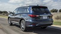 2017 Infiniti QX60 updated with increased power direct-injection engine