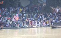 After 75 years, Kashmiri Pandits take holy dip in Maha Kumbh